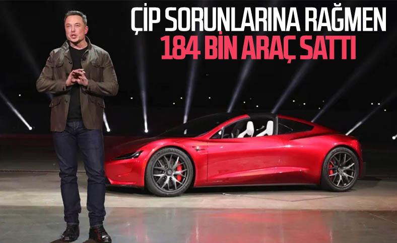 Tesla, çip sorunlarına rağmen ilk çeyrekte 184 bin araç sattı
