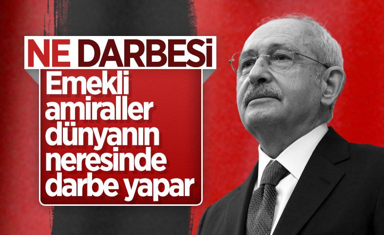 Kemal Kılıçdaroğlu: Emekliler dünyanın neresinde darbe yaptı