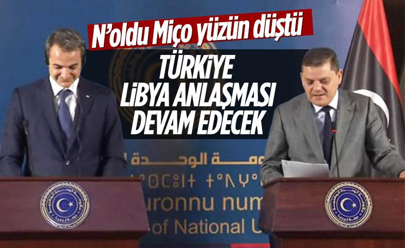 Libya Başbakanı Dibeybe'den Miçotakis'i üzen Türkiye açıklaması