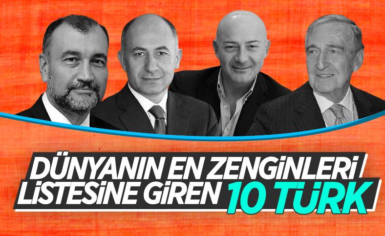 Forbes, Türkiye'nin en zengin 10 kişisini açıkladı