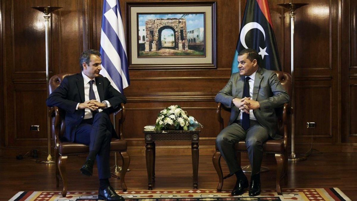 Libya Başbakanı Dibeybe den Miçotakis i üzen Türkiye açıklaması #1