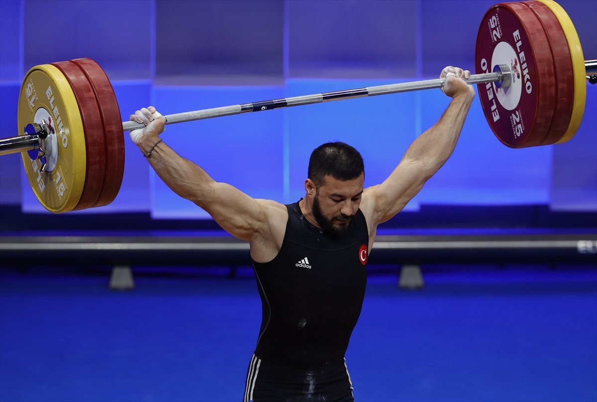 Milli halterci Daniyar İsmayilov Avrupa şampiyonu #4