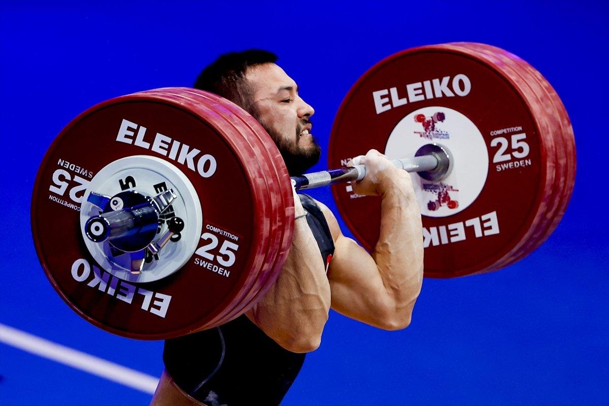 Milli halterci Daniyar İsmayilov Avrupa şampiyonu #7