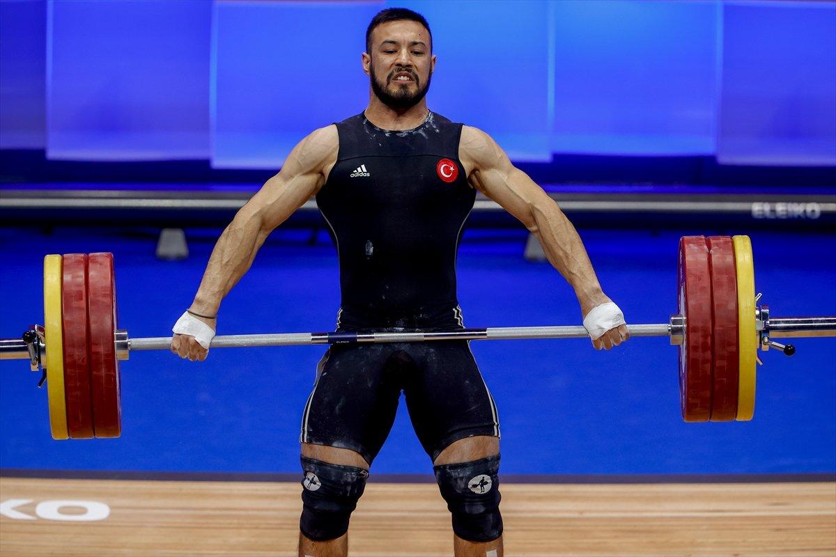 Milli halterci Daniyar İsmayilov Avrupa şampiyonu #2