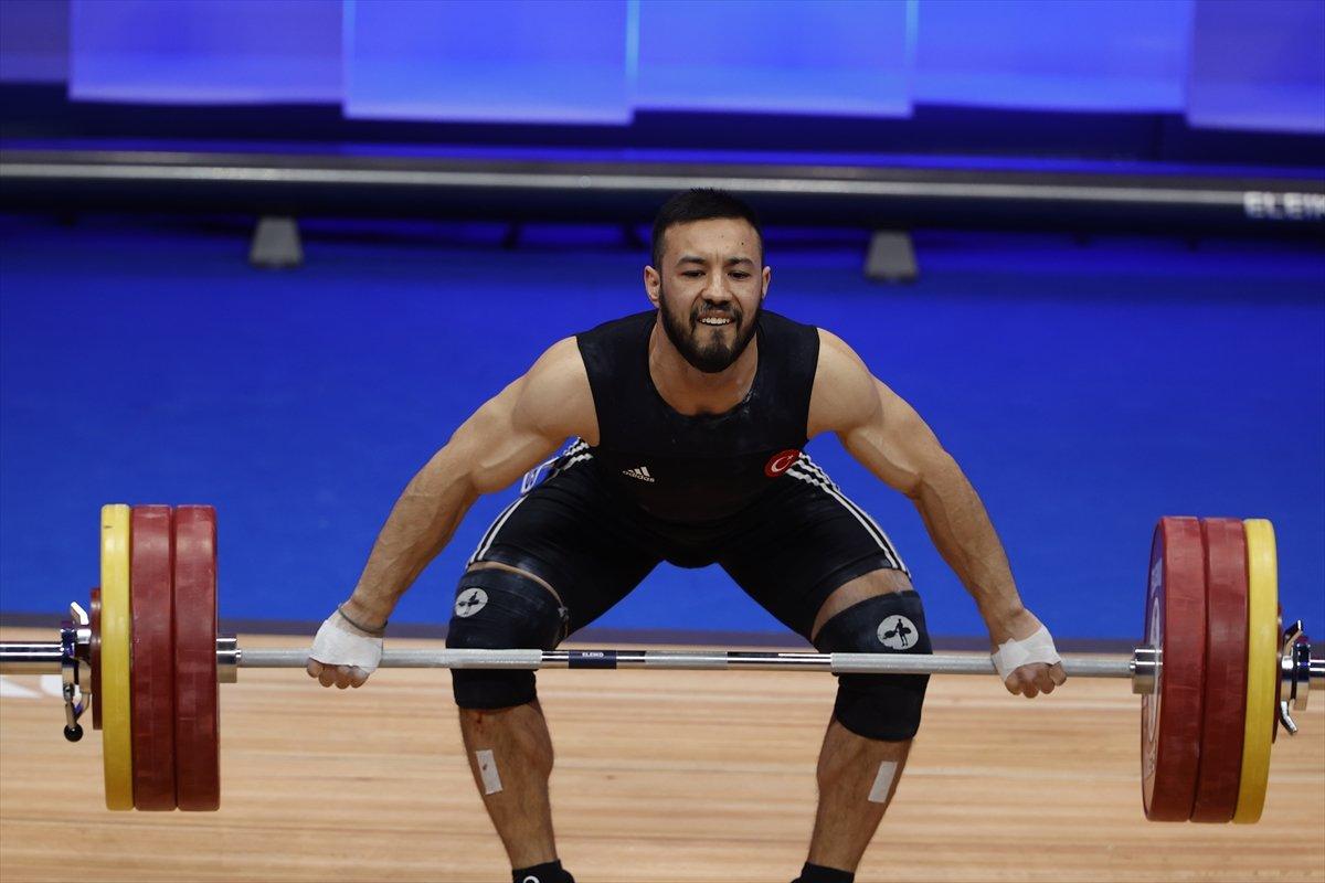 Milli halterci Daniyar İsmayilov Avrupa şampiyonu #1