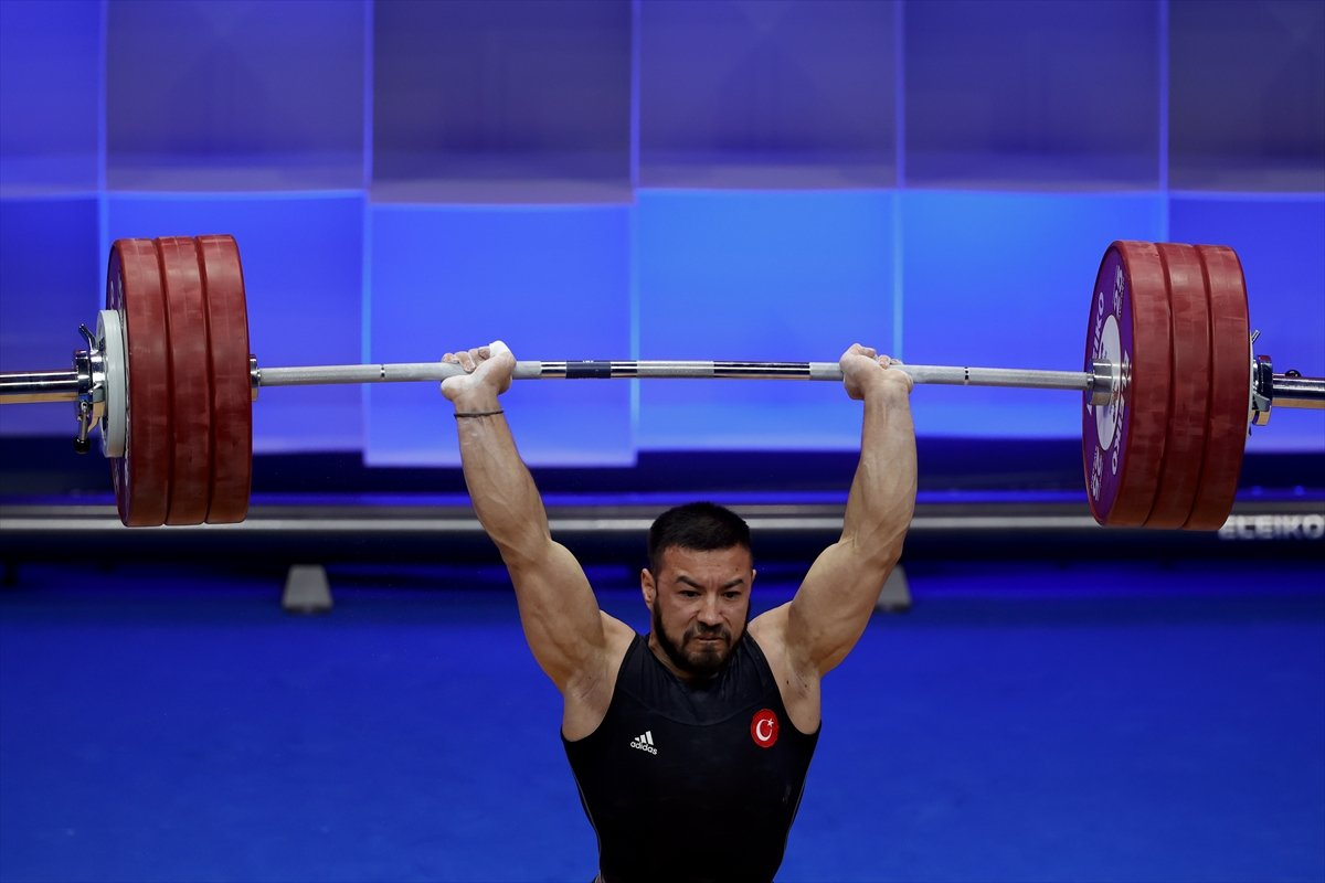 Milli halterci Daniyar İsmayilov Avrupa şampiyonu #9
