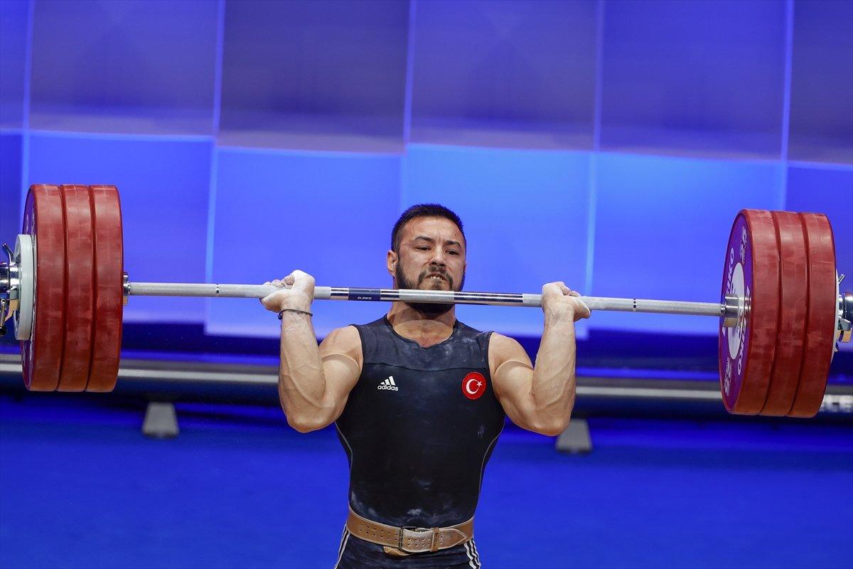 Milli halterci Daniyar İsmayilov Avrupa şampiyonu #8