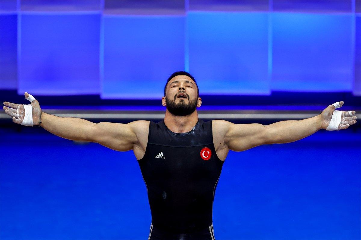 Milli halterci Daniyar İsmayilov Avrupa şampiyonu #6