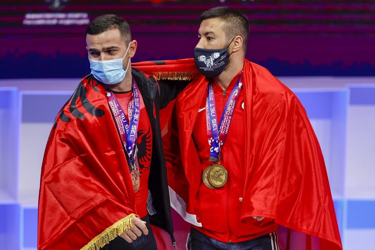 Milli halterci Daniyar İsmayilov Avrupa şampiyonu #13