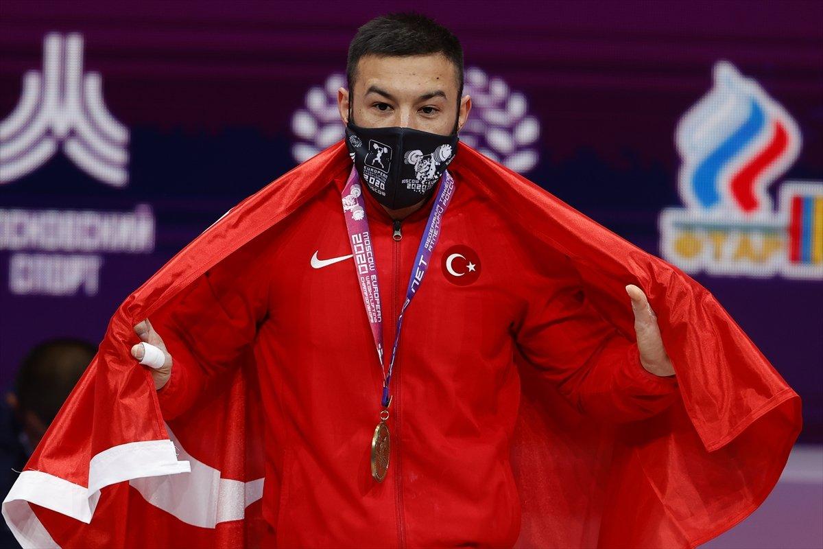 Milli halterci Daniyar İsmayilov Avrupa şampiyonu #14