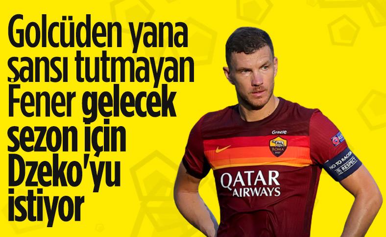 Fenerbahçe'nin gelecek sezon hedefi: Edin Dzeko