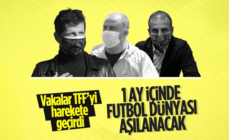 TFF ve Kulüpler Birliği'nden aşı kararı