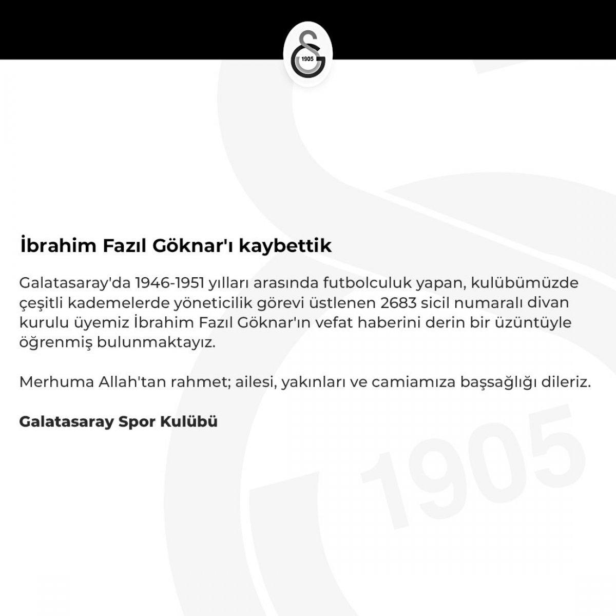 İbrahim Fazıl Göknar, hayatını kaybetti #1
