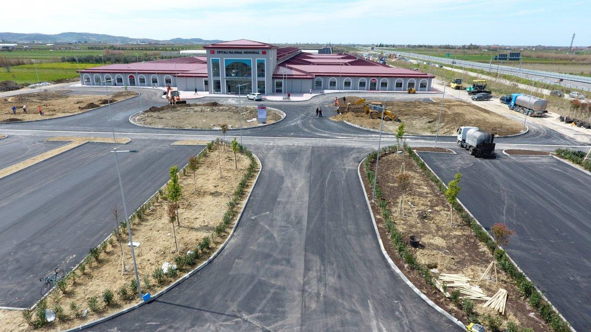 Türkiye sözünde durdu, Arnavutluk'ta 48 günde hastane inşa edildi #1