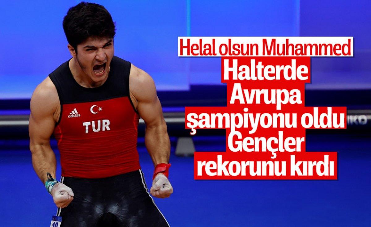 Milli halterci Daniyar İsmayilov Avrupa şampiyonu #15