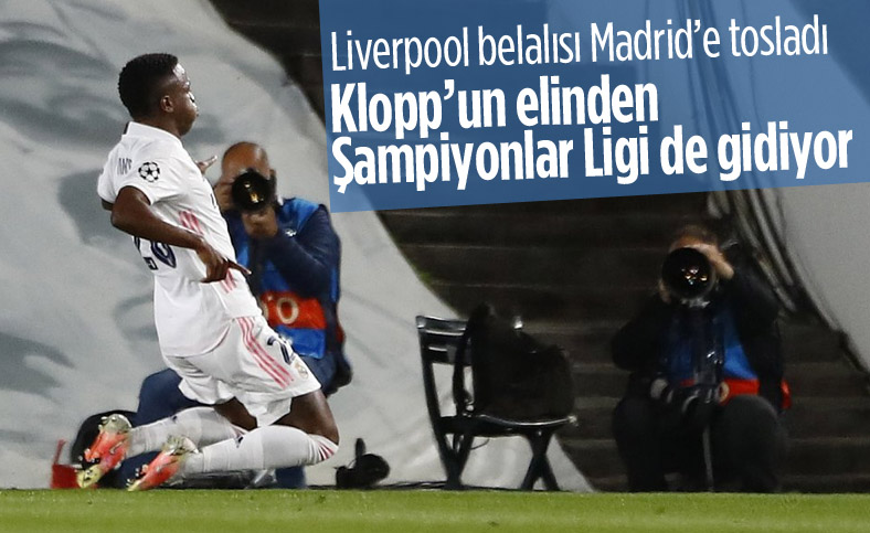 Real Madrid Şampiyonlar Ligi'nde Liverpool'a 3 attı