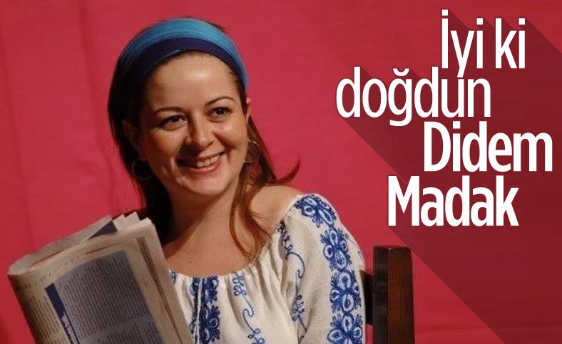 Türk şiirinin güzel kadın şairi Didem Madak 51 yaşında