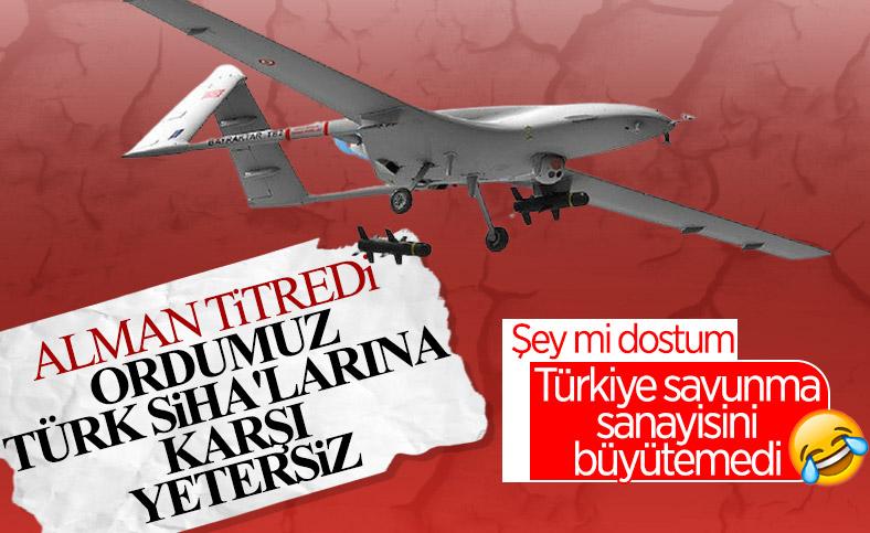 Türk SİHA'ları Alman ordusunu önlem almaya zorladı