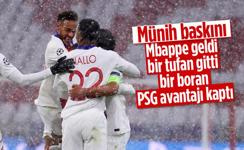 PSG Şampiyonlar Ligi'nde Bayern Münih'i yendi