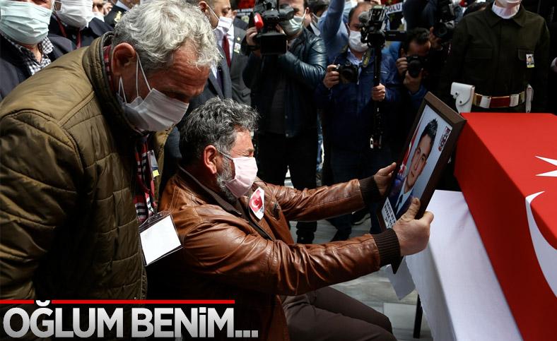 Şehit pilot Burak Gençcelep'in cenazesi Trabzon'a getirildi