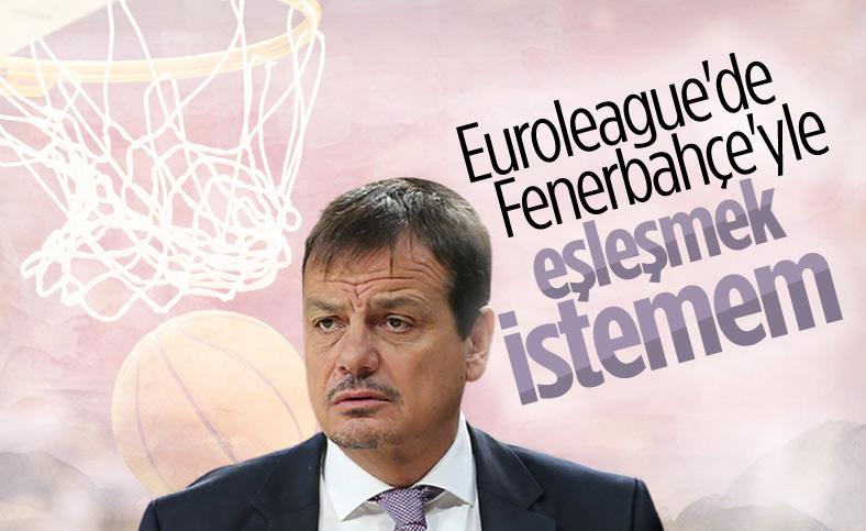 Ergin Ataman: Fenerbahçe ile eşleşmek istemem