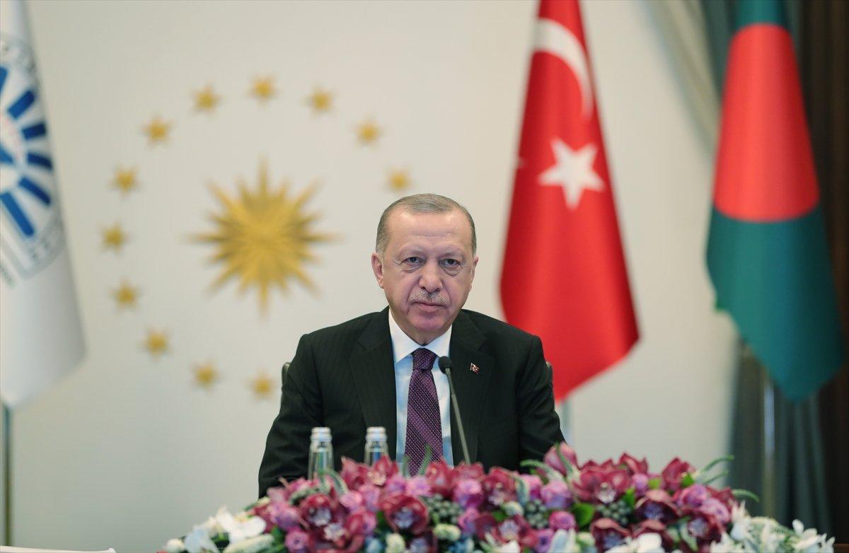 Cumhurbaşkanı Erdoğan ın D-8 Zirve Toplantısı konuşması #2