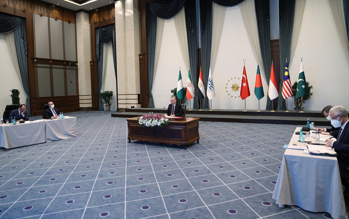 Cumhurbaşkanı Erdoğan ın D-8 Zirve Toplantısı konuşması #1
