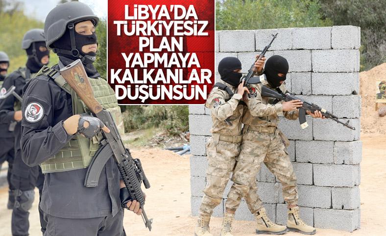 Libya'da TSK'nın eğittiği askerler mezun oldu
