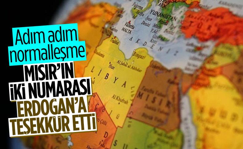 Mısır Başbakanı'ndan Cumhurbaşkanı Erdoğan'a teşekkür