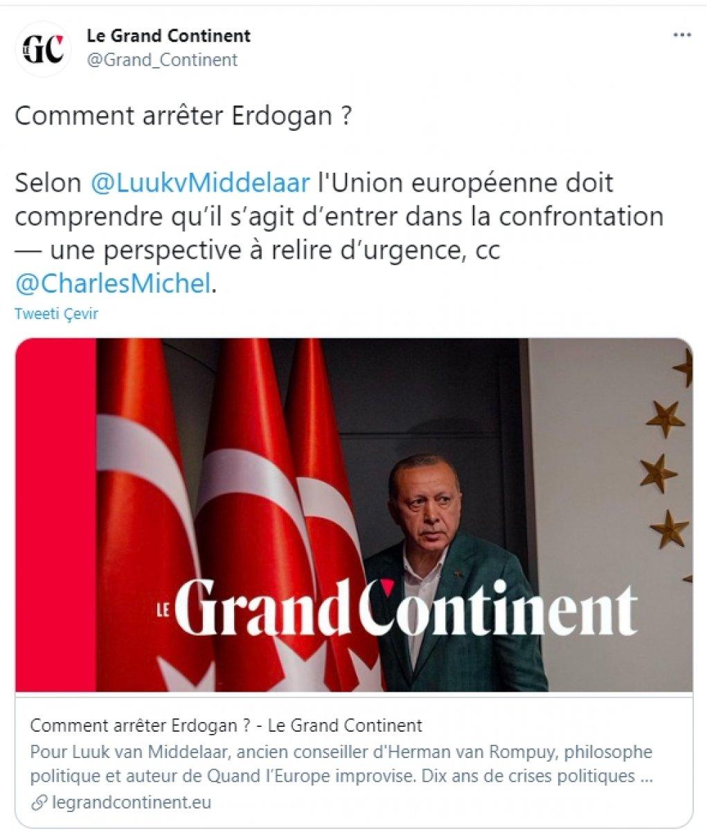 Fransız Le Grand Continent ın Erdoğan korkusu #1