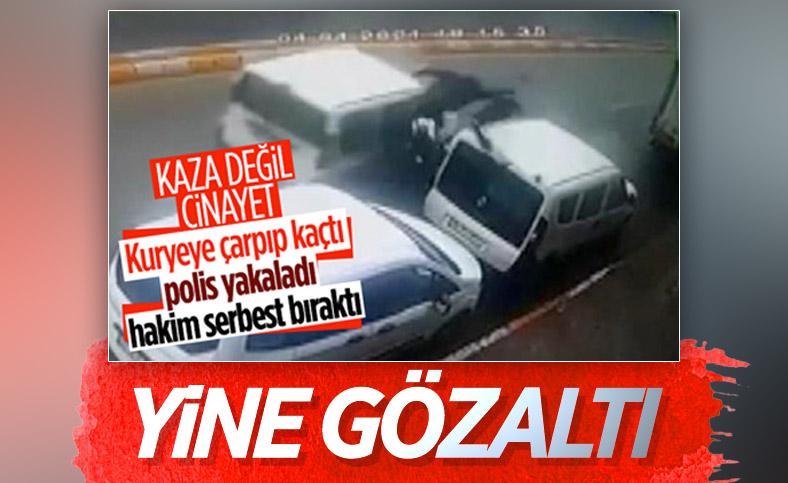 Üsküdar'da moto kuryenin ölümüne neden olan sürücü tekrar gözaltında