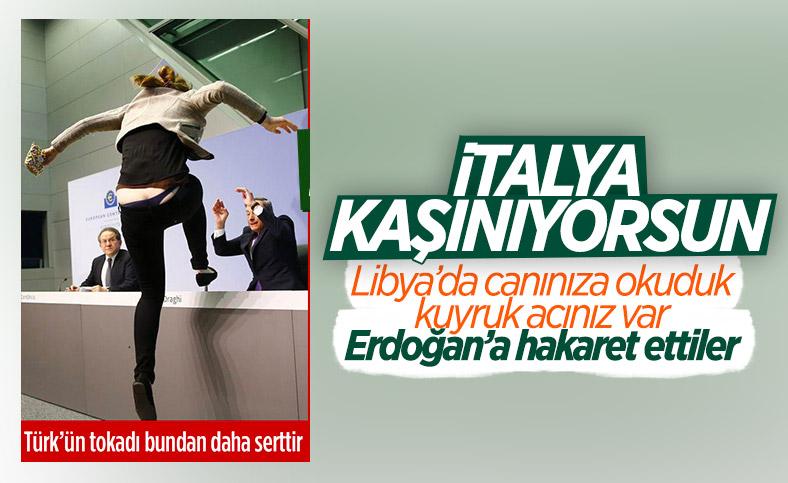 Mario Draghi, Cumhurbaşkanı Erdoğan'a diktatör dedi