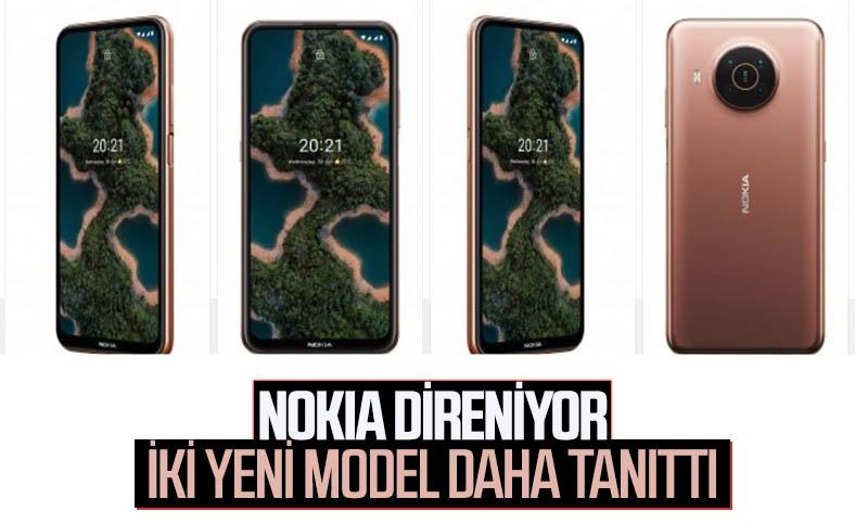 Nokia, 5G destekli X10 ve X20 modellerini tanıttı