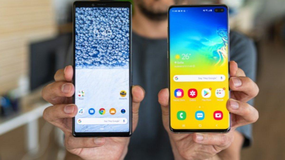 Sony, mobil sensör pazarında Samsunga fark attı