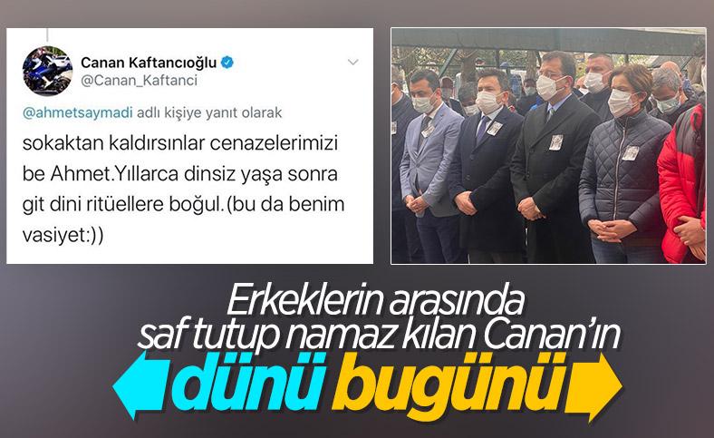 Canan Kaftancıoğlu'nun cenaze vasiyeti