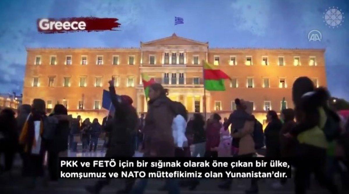 İletişim Başkanı Altun dan, Yunanistan ın terör örgütlerine desteklerini anlatan video #5