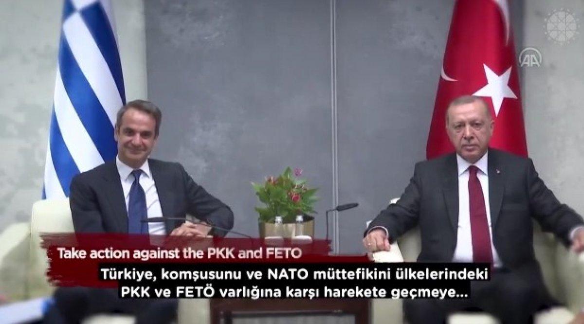 İletişim Başkanı Altun dan, Yunanistan ın terör örgütlerine desteklerini anlatan video #7