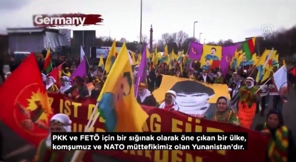 İletişim Başkanı Altun dan, Yunanistan ın terör örgütlerine desteklerini anlatan video #4