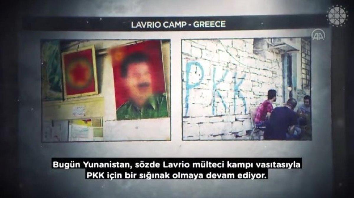 İletişim Başkanı Altun dan, Yunanistan ın terör örgütlerine desteklerini anlatan video #6