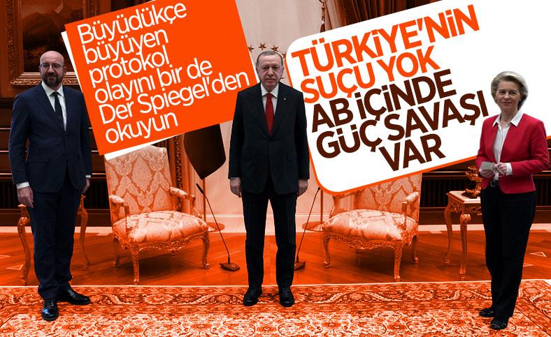 Der Spiegel protokol krizini yazdı: Türkiye'nin suçu yok