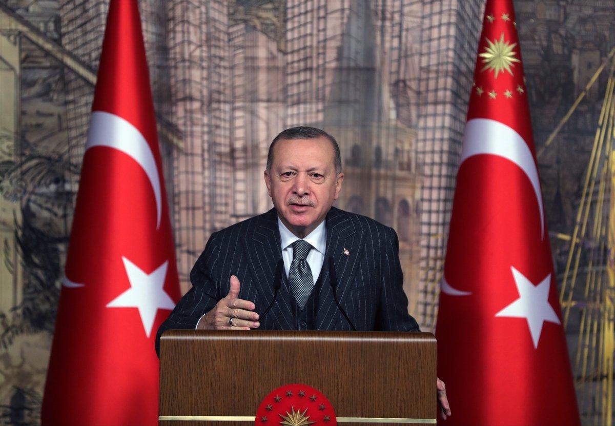 Cumhurbaşkanı Erdoğan dan gündeme dair açıklamalar #2