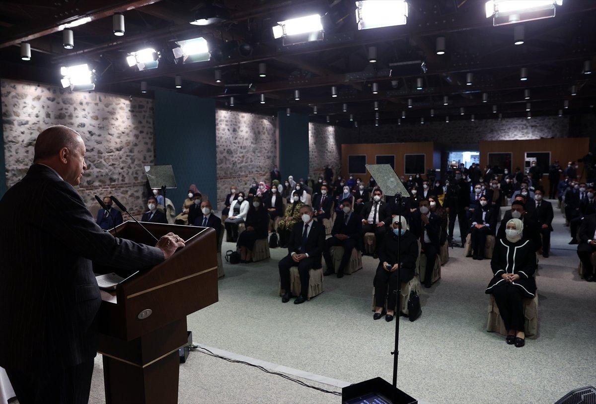Cumhurbaşkanı Erdoğan dan gündeme dair açıklamalar #1