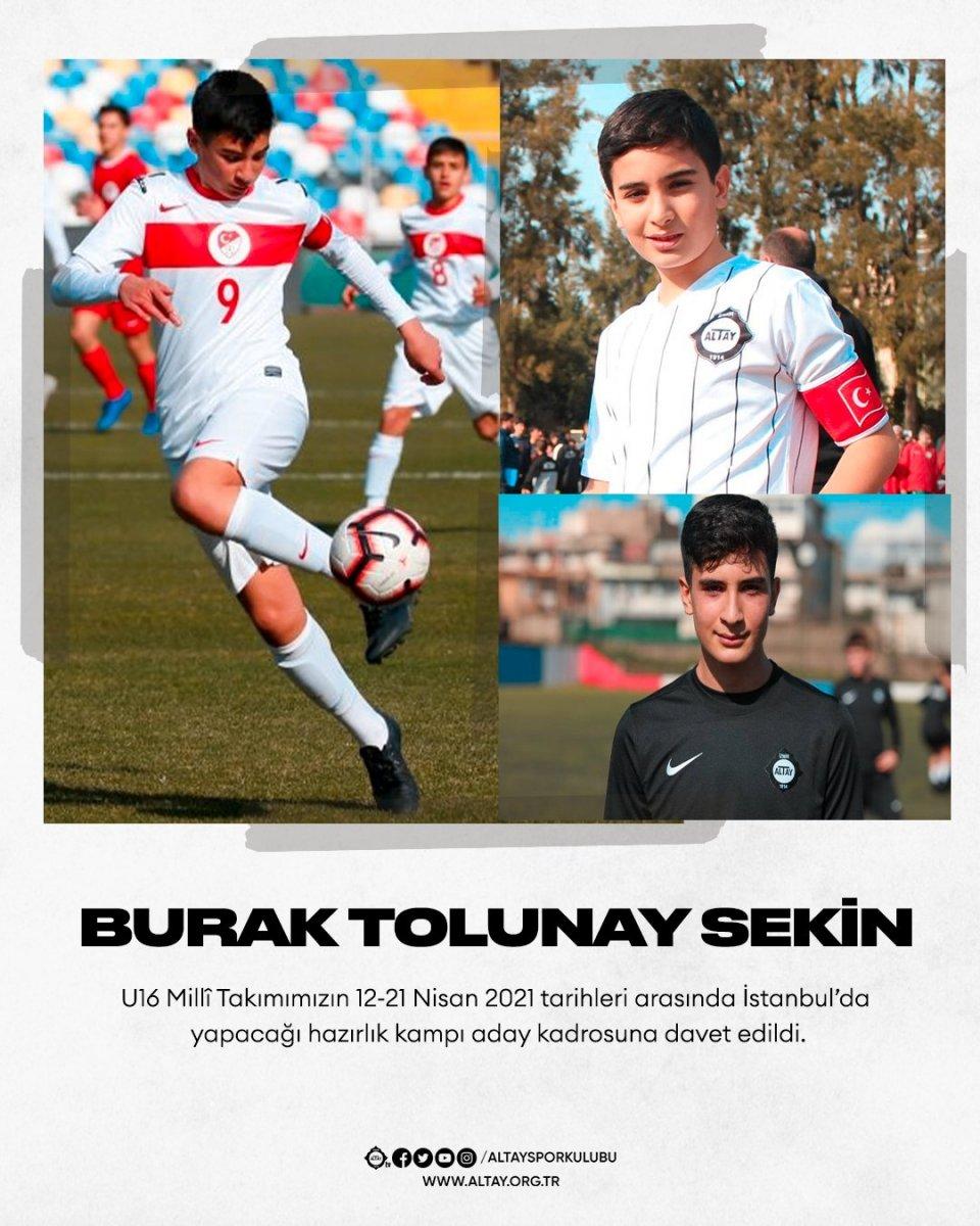 Şehit Fethi Sekin in oğlu Burak Tolunay U16 Milli Takımı na çağırıldı #2