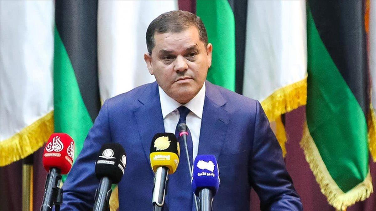 Libya Başbakanı Dibeybe Türkiye ye geliyor #1