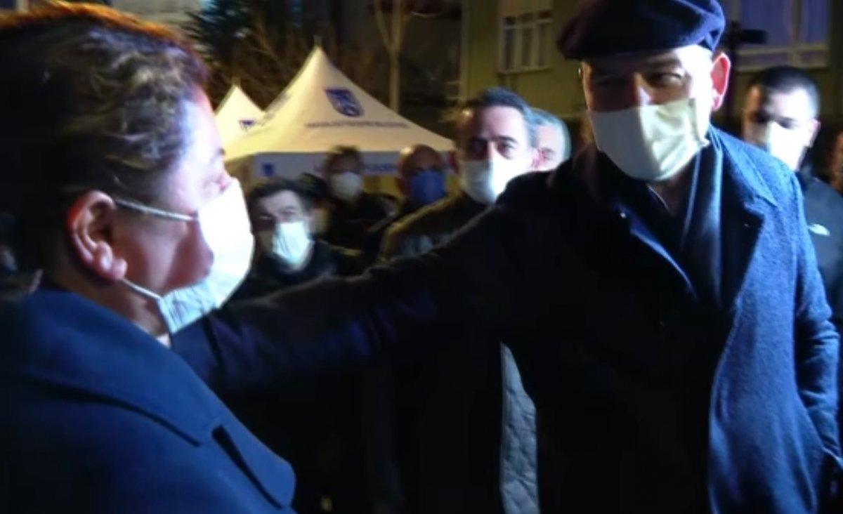 İçişleri Bakanı Soylu, mağduruz diyen Açelya apartmanı sakinini teselli etti #6