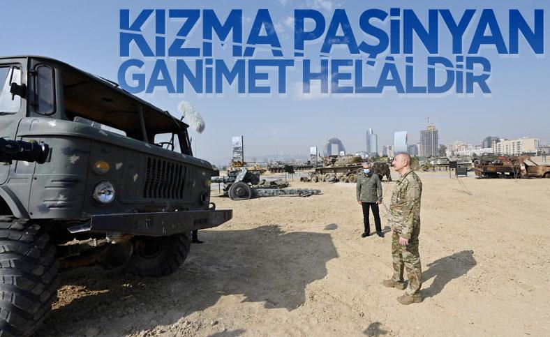 Azerbaycan'da Askeri Ganimet Parkı açıldı