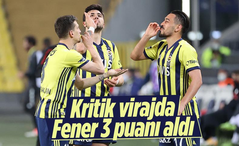 Fenerbahçe evinde Gaziantep'i 3 golle mağlup etti