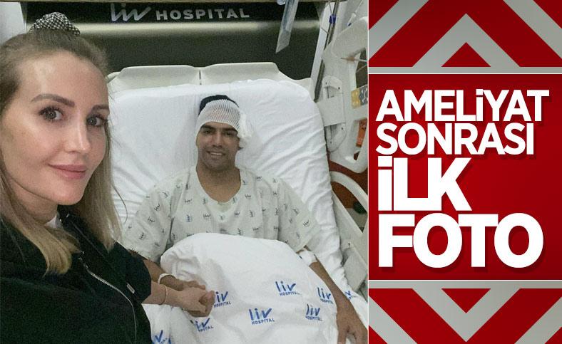 Radamel Falcao'dan ameliyat sonrası ilk fotoğraf