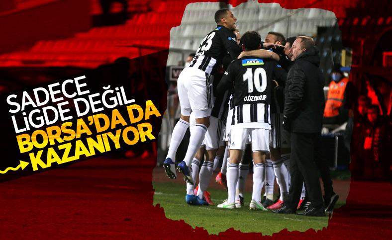 Borsa İstanbul'da da kazanan Beşiktaş