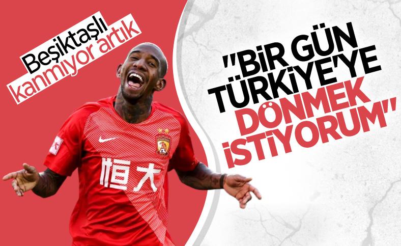 Anderson Talisca: Beşiktaş'ı özledikçe paylaşım yapıyorum